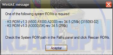 Configurar Amiga CD32 con MALA