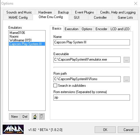 Capcom System Play III en MALA